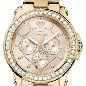 Juicy Couture Rose Gold Crystal Watch